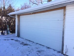 Double Wide Garage For Rent