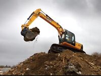 360 machine driver for hire with or without digger