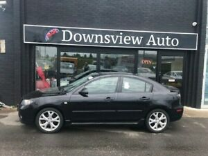 2007 Mazda Mazda3 GT!AUTO!FULLY LOADED!LEATHER!ROOF!ALLOYS!