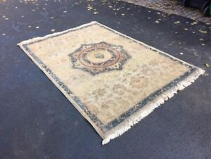 Hand knotted Egyptian weave carpet