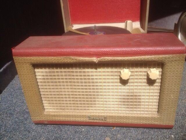 1960s record player needs tlc