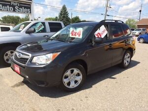 2015 Subaru Forester AWD // 2.5L // FOR ONLY $23 995!!