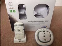 Bt digital baby monitor