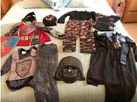 Selection of dressing up outfits