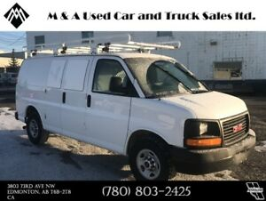 2011 GMC Savana Cargo Van 2500 Shelving & Ladder Rack