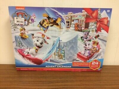 Paw Patrol Holiday Advent Calendar with 24 Toy Surprises
