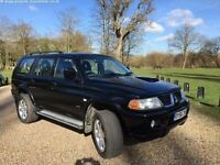 Mitsubishi Shogun Sport 2.5 TD Warrior 5dr , 2 owners , 2 keys FSH , Long MOT , STUNNING in and out