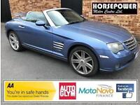 2005 Chrysler Crossfire 3.2 Roadster 2dr Petrol blue Automatic