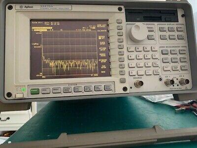 Hpagilent 35670a Fft Dynamic Signal Analyzer 2ch Option 100 Ufc Uff