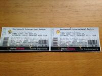 JIMMY CARR Live @ BIC Saturday 11th March: Balcony Seats/ Row B