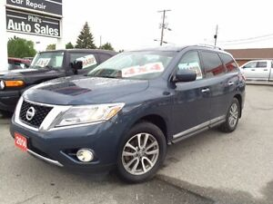 2014 Nissan Pathfinder SL AWD / V6 / LEATHER / FOR ONLY $26 995