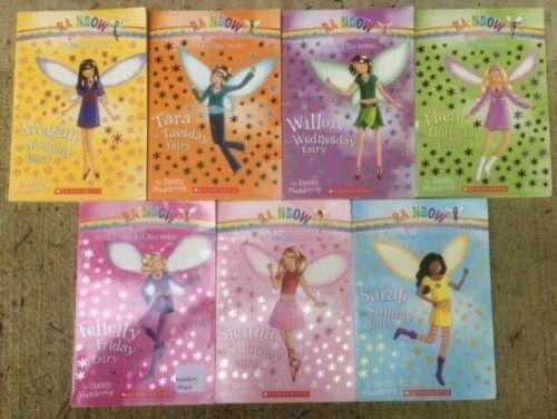 Fun Day Fairies 1-7 set 1 2 3 4 5 6 7 Rainbow Magic lot Megan Tara Willow Thea