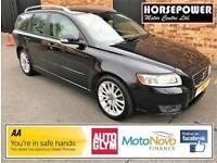 2010 Volvo V50 1.6 D DRIVe SE Lux 5dr (start/stop) Diesel black Manual