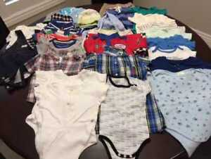 Gently Used Children's Clothing 6-12 months