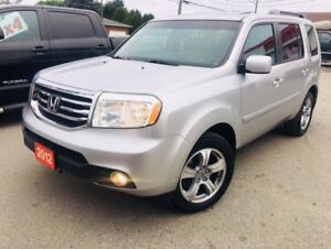 2012 Honda Pilot EX-L 4WD 8 PASSENGER / TV IN HEADREST! SUNROOF
