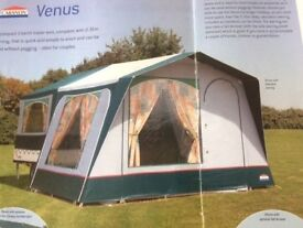Cabanon Venus 2 Berth trailer tent - Excellent condition only used 6 times