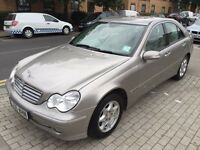 Mercedes-Benz C Class 2.1 C200 CDI Elegance SE 4dr SMOOTH DRIVE 2006 (06 reg), Saloon