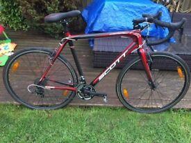 Scott Addict cyclo cross CX cyclocross mens road bike was £2499 new! Large/ XL 60cm