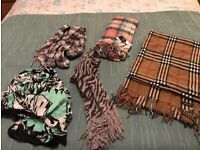 Gorgeous selection of scarves - some brand new