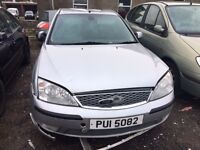 2006 Ford mondeo, for parts only, all parts available