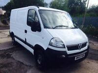 Vauxhall Movano Great Running Diesel Cheap Van Long Mot Good Miles like master trafic vivaro transit