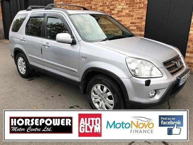 2005 Honda CR-V 2.0 i-VTEC Sport Station Wagon 5dr Petrol silver Manual