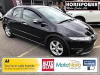 2010 Honda Civic 2.2 i-CTDi SE Hatchback 5dr Diesel black Manual