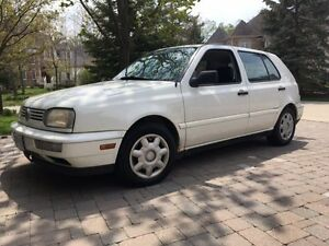 2000 Volkswagen Golf Hatchback NEW PRICE!
