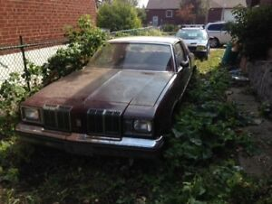 1979 OLDSMOBILE CUTLAS SUPREME 2 DOOR 6 CYLINDER