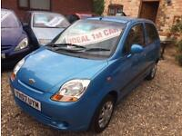 Chevrolet Matiz 1.0 SE cheap car low mileage