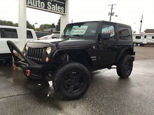 2015 Jeep Wrangler Sport 4x4 LIFTED, AUTOMATIC, 2 TOPS, NAVI....