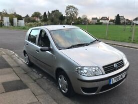 2006 Fiat Punto 1.2 Litre 5 Door Only 77000 Miles New MOT New Clutch Fitted Excellent Daily Runner