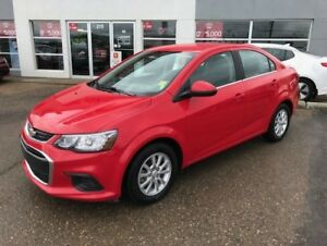 2017 Chevrolet Sonic LT Auto FULLY LOADED AND ACCIDENT FREE!
