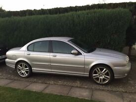 Jaguar X-Type Sport Premium 3.0 AWD petrol For Sale, silver, manual, 73k, black heated leather seats