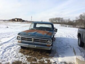 1972 Ford F100 4 speed