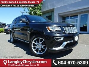 2016 Jeep Grand Cherokee Summit w/ 4X4, DUAL HEADREST DVD SCR...
