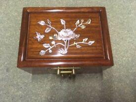 Chinese style trinket jewellery box
