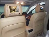 Automobile headrest DVD player, perfect condition!