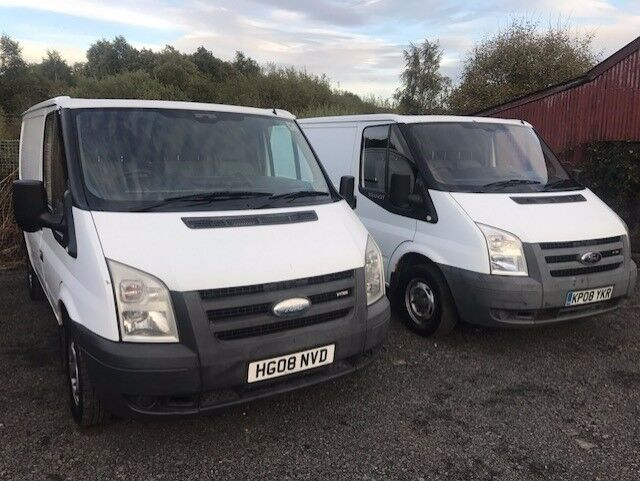Two Ford Transit 2008 Model Available, Very Good Clean Vans