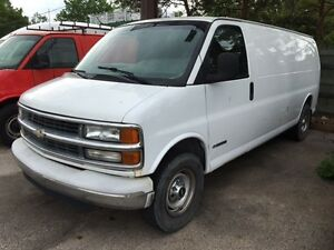 2001 Chevrolet Savanna Express 3500 EXTENDED+CLEAN