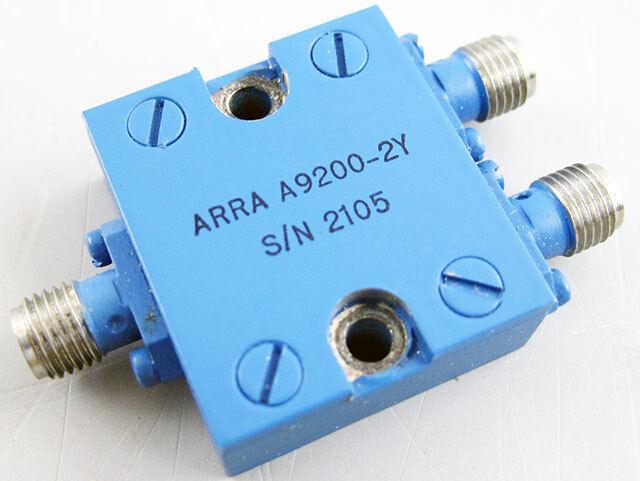ARRA A9200-2Y SMA 2 WAY NARROW BAND POWER DIVIDER COMBINER