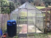 Greenhouse - dismantled and ready for collection