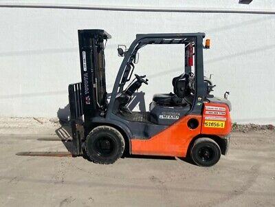 2014 Toyota Forklift 5000lb 8fgu25