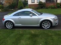 Silver Audi TT 1.8 Turbo (225bhp) for sale! Great reliable car!
