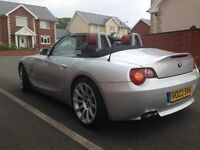 BMW Z4 IN EXCELLENT CONDITION, LOW MILEAGE, FULL SERVICE HISTORY!!