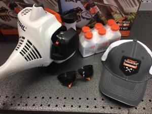 SPRING SALE ALERT!  STIHL FS38 Trimmer for ONLY $149.95!  PLUS a free 6 pack of oil, a free hat