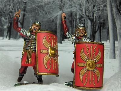 (Conte ROMAN ARMY ROME BARBARIAN Caesar ROME012 Legion Attacking Set1)