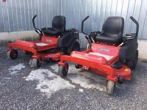 "Brand New Craftsman 42"" Zero Turn Mowers! Unbeatable savings now until all inventory is sold! Call now to reserve yours!"