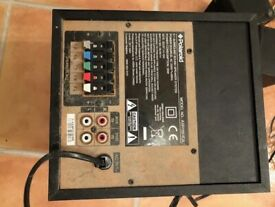 POLAROID SUROUND SOUND SYSTEM