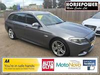 2011 BMW 5 Series 2.0 520d M Sport Touring 5dr Diesel grey Automatic